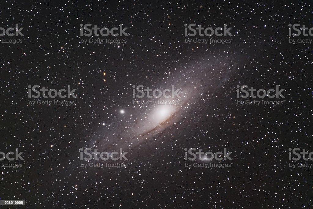 M31 Andromeda Galaxy stock photo