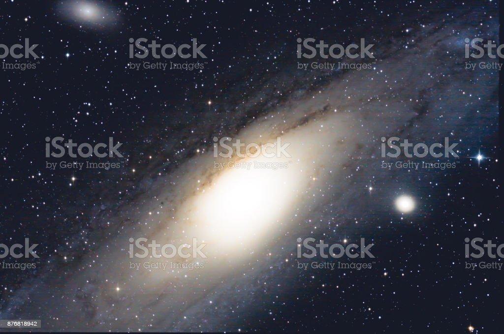 Andromeda Galaxy (M31) stock photo