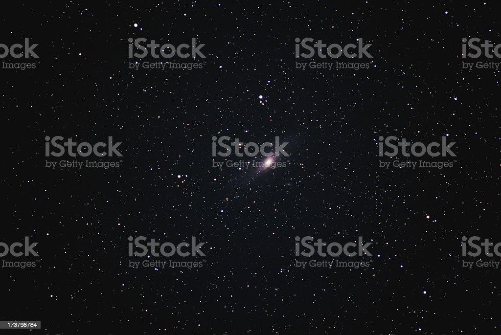 Andromeda's Neighborhood stock photo