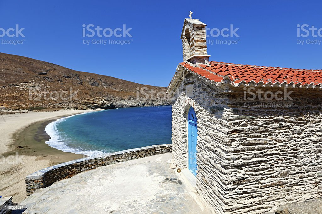 Andros island, Greece stock photo