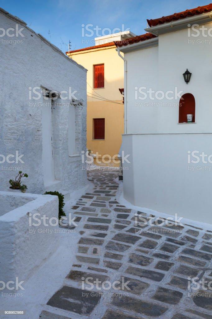 Andros island. stock photo