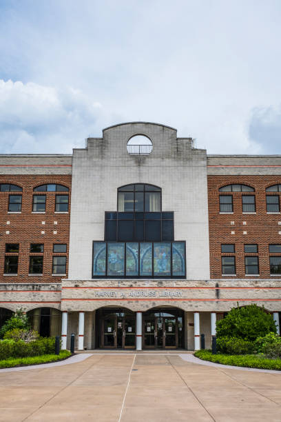 Andruss Library at Bloomsburg University stock photo