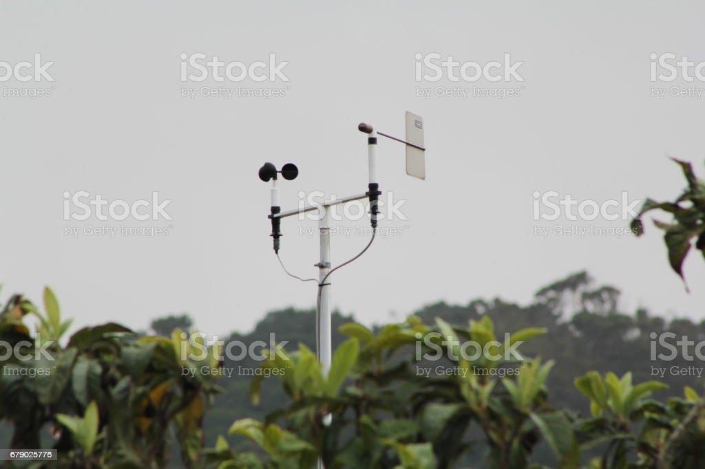 Anemometer foto de stock libre de derechos