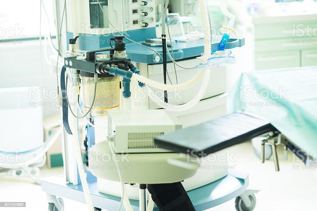 Anesthesia Maschine im Krankenhaus Operationssaal – Foto