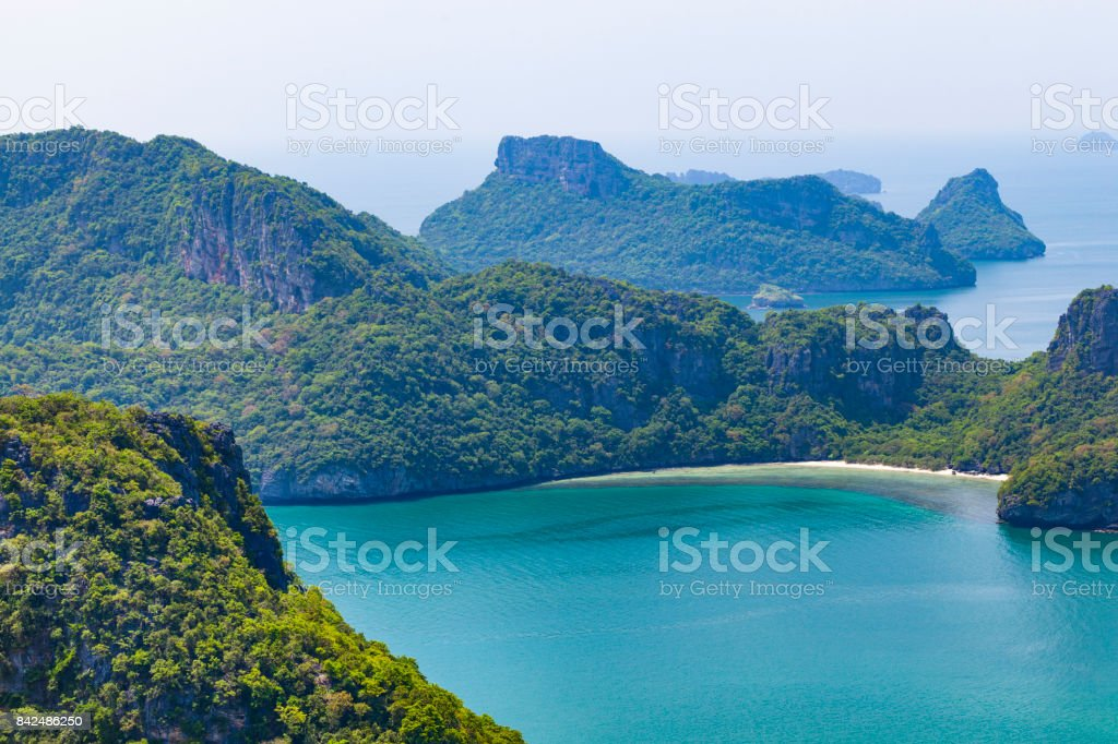 ang thong islands, thailand stock photo