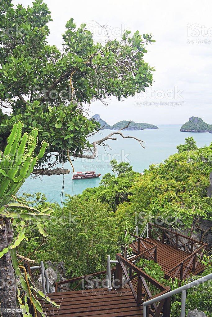 Ang Thong National Marine Park royalty-free stock photo