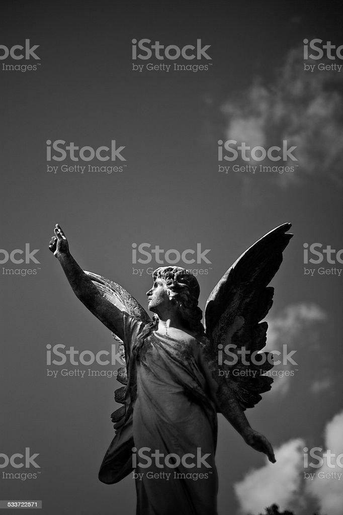 Angel 1 stock photo