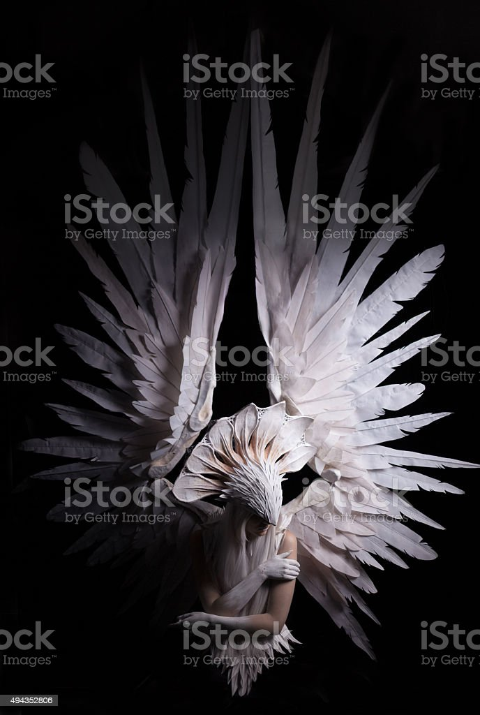Angel 15 stock photo