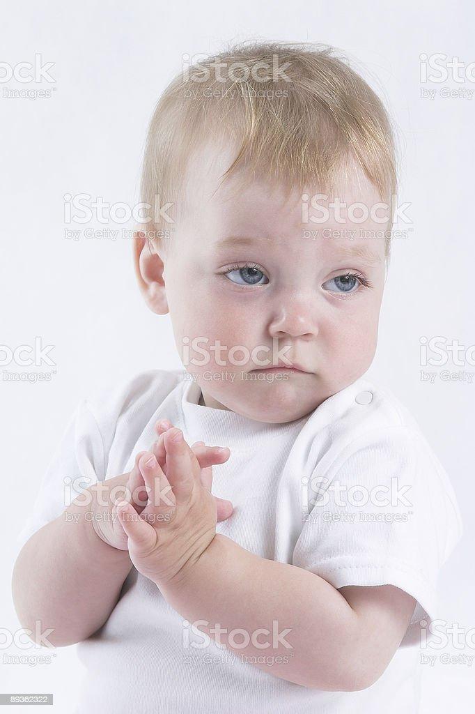Ange bébé photo libre de droits