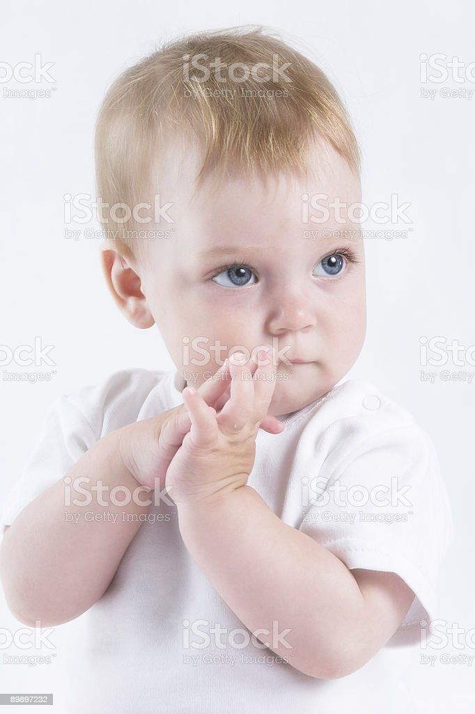 Angel baby royalty free stockfoto