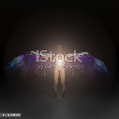 istock Angel Being 1174798655