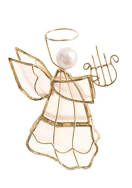 angel christbaumkugel - schmuck engel stock-fotos und bilder