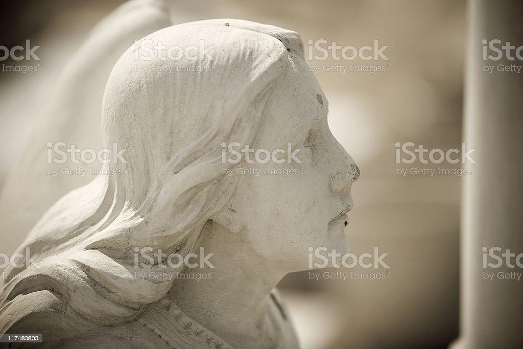 Angel closeup royalty-free stock photo