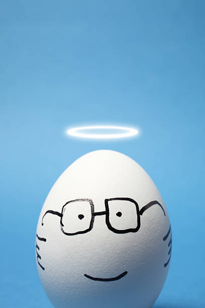 Angel Egg stock photo