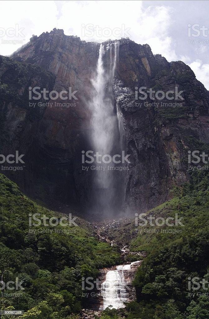 Angel Falls, Canaima, Venezuela stock photo