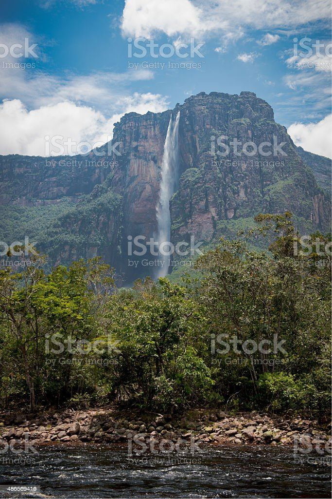 Angel Falls in the Distace stock photo