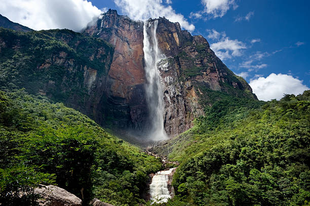 angel falls - venezuela stock photos and pictures