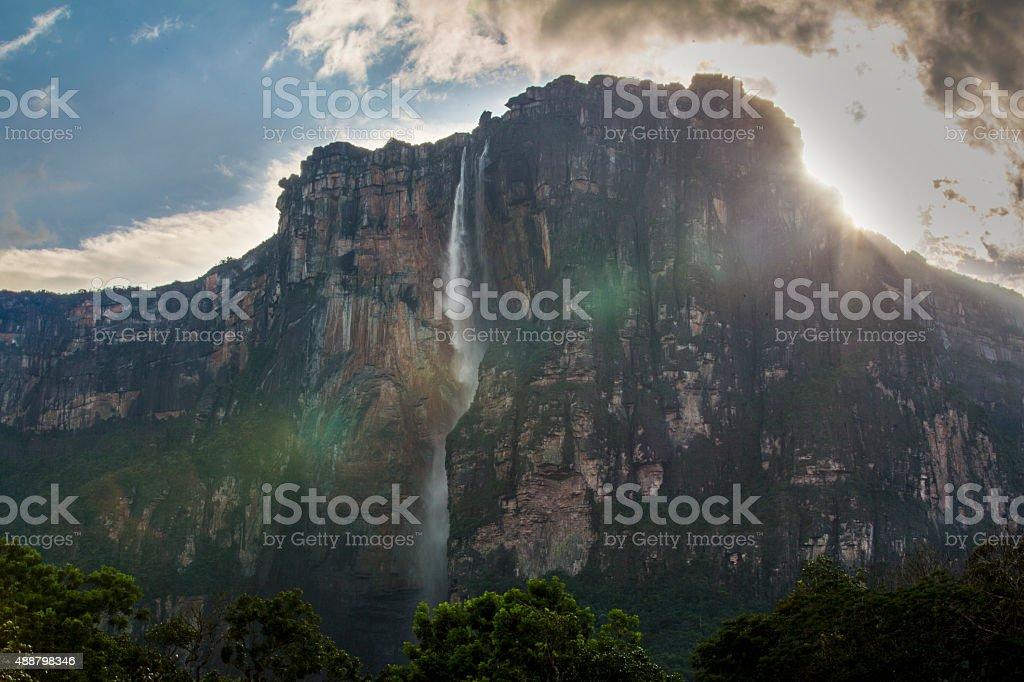 Angel Falls stock photo