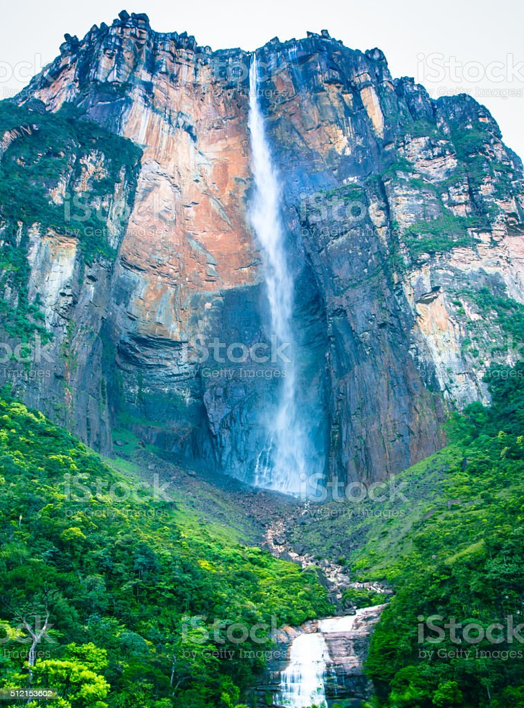 Angel Falls, Venezuela stock photo