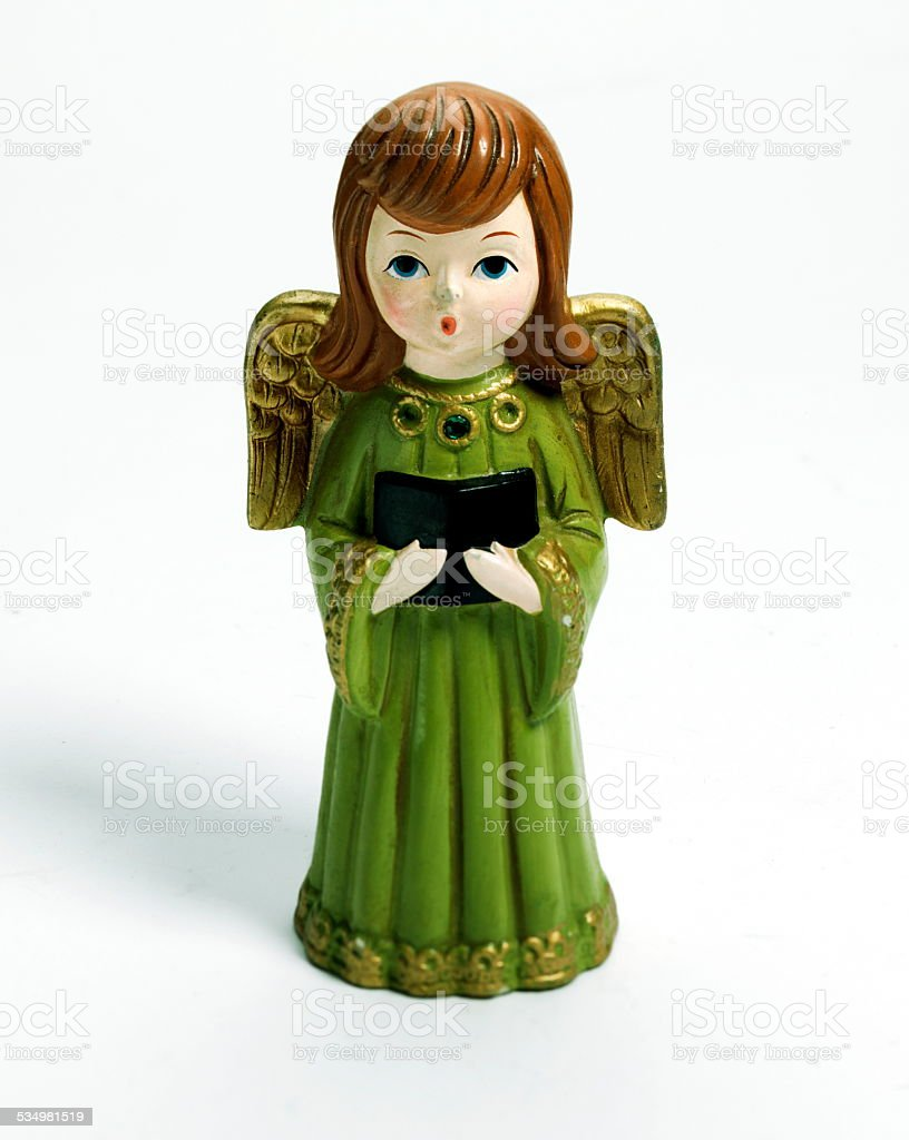 Angel Figurine stock photo