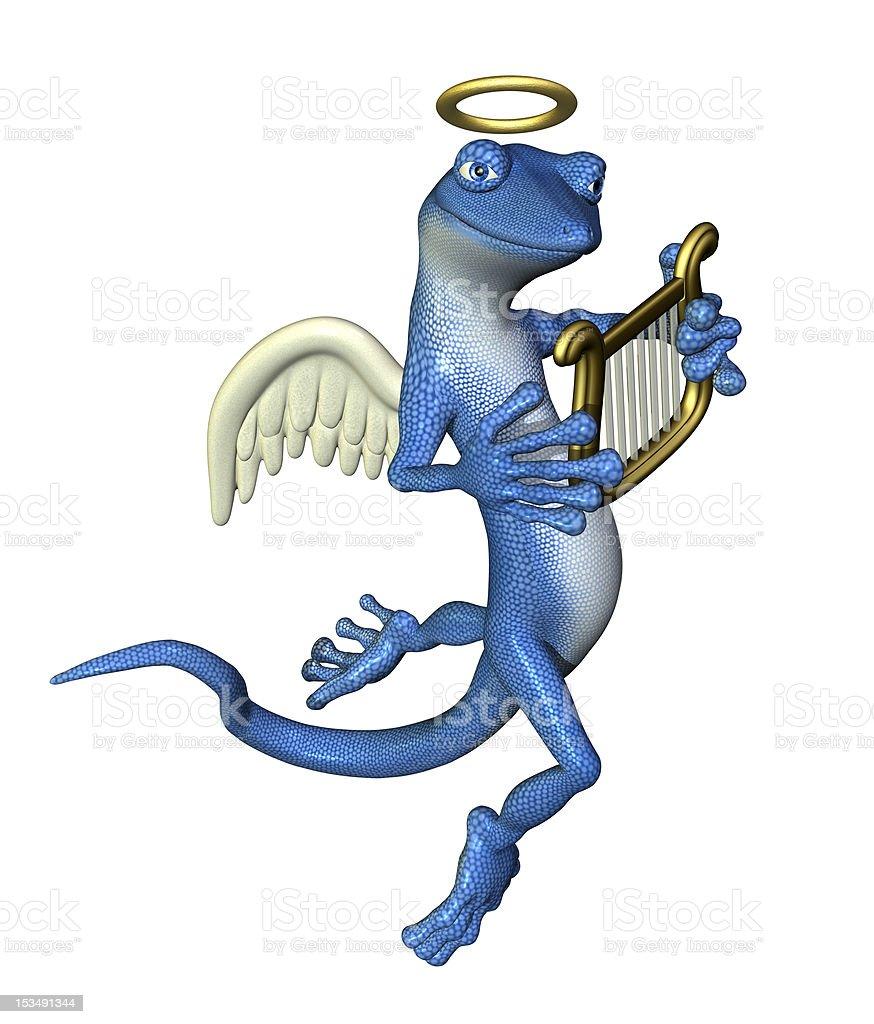 Angel Gecko royalty-free stock photo