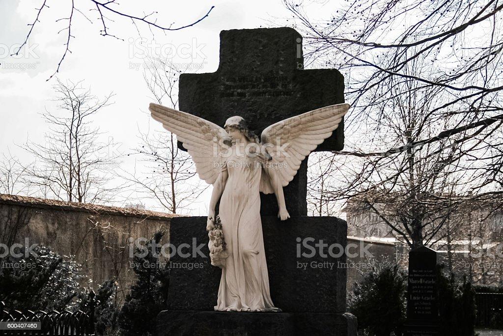Angel in a cemetery – Foto