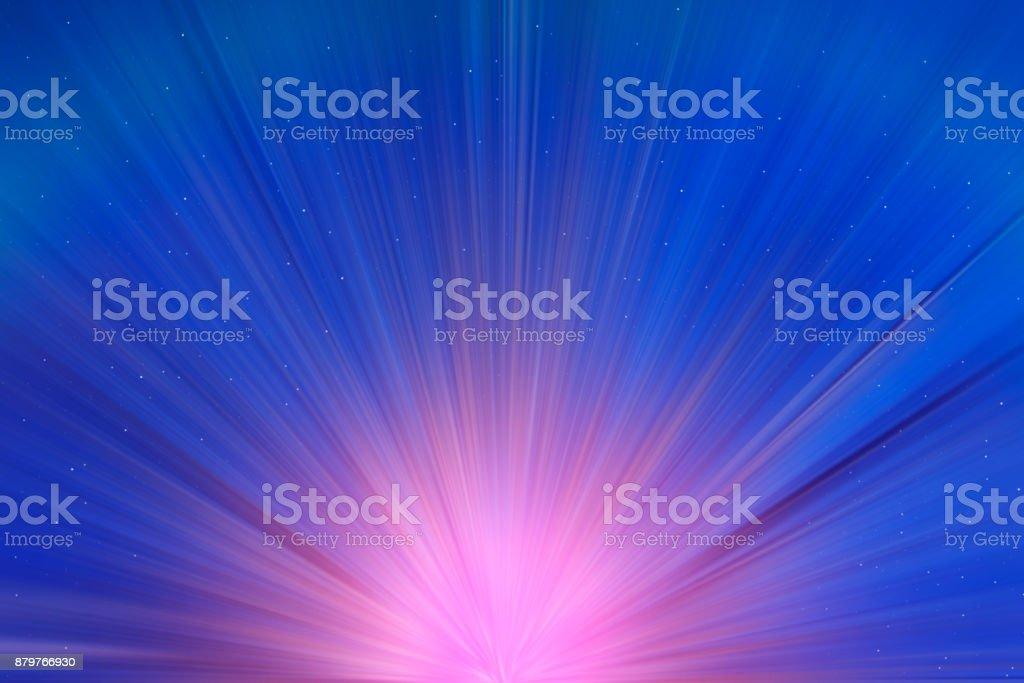 Angel light stock photo