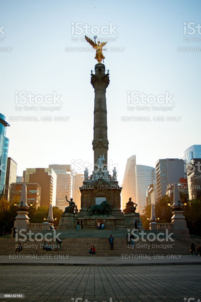 Angel of Independence, Mexico City, Mexico stock photo