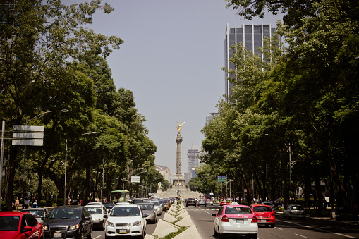 Angel of Independence monument at Mexico City