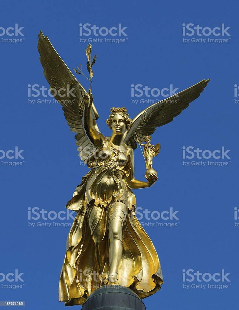 Angel of Peace Munich stock photo