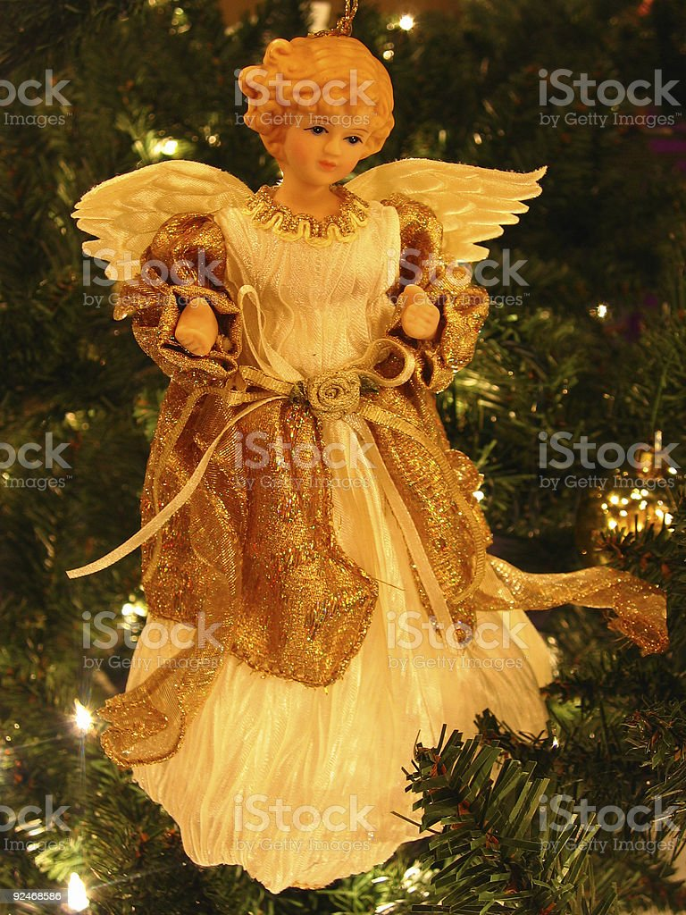 angel ornament royalty-free stock photo