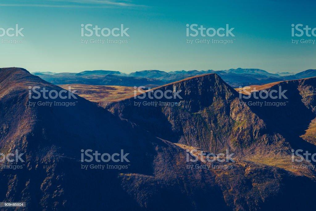 Angel Peak, Cairngorms, Scotland stock photo