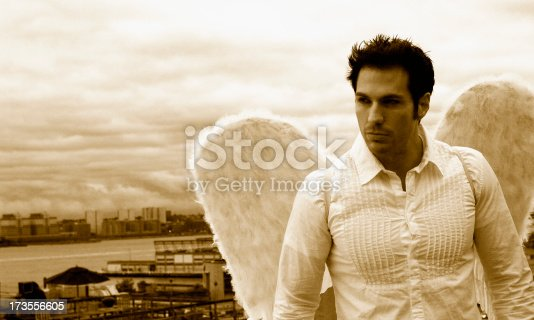 istock Angel Perched 173556605