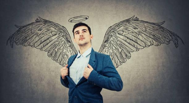 angel  - engel zeichnen stock-fotos und bilder