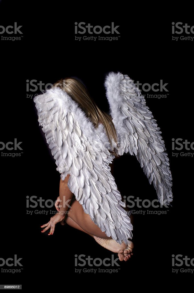Angel Lizenzfreies stock-foto