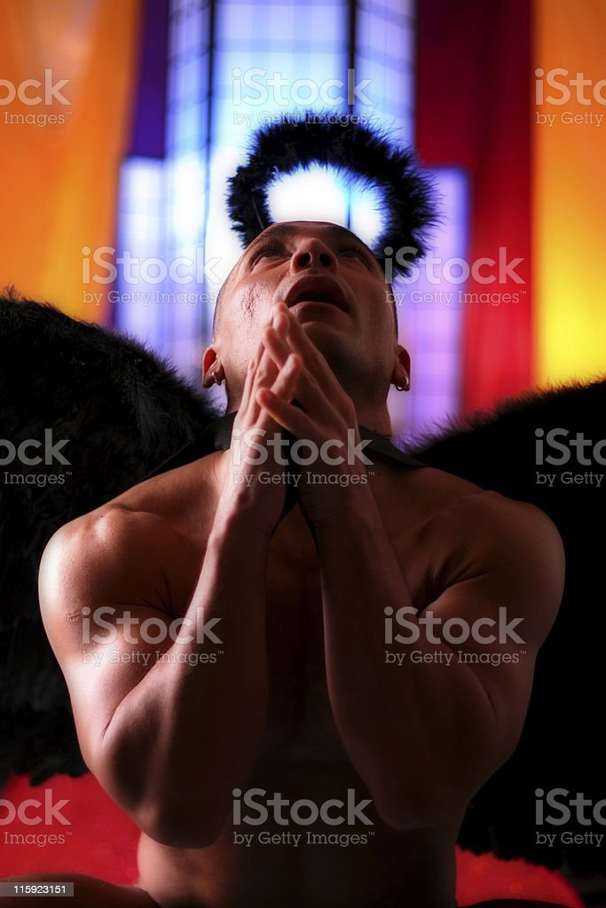 Angel Praying royalty-free stock photo