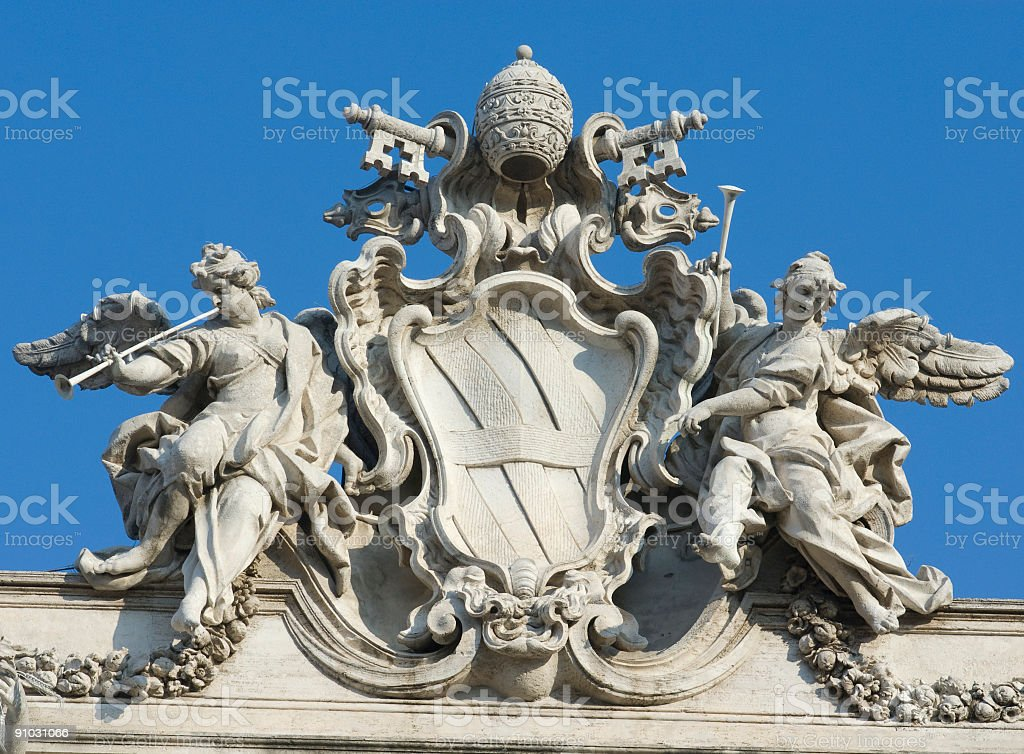 Angel sculptures royalty-free stock photo