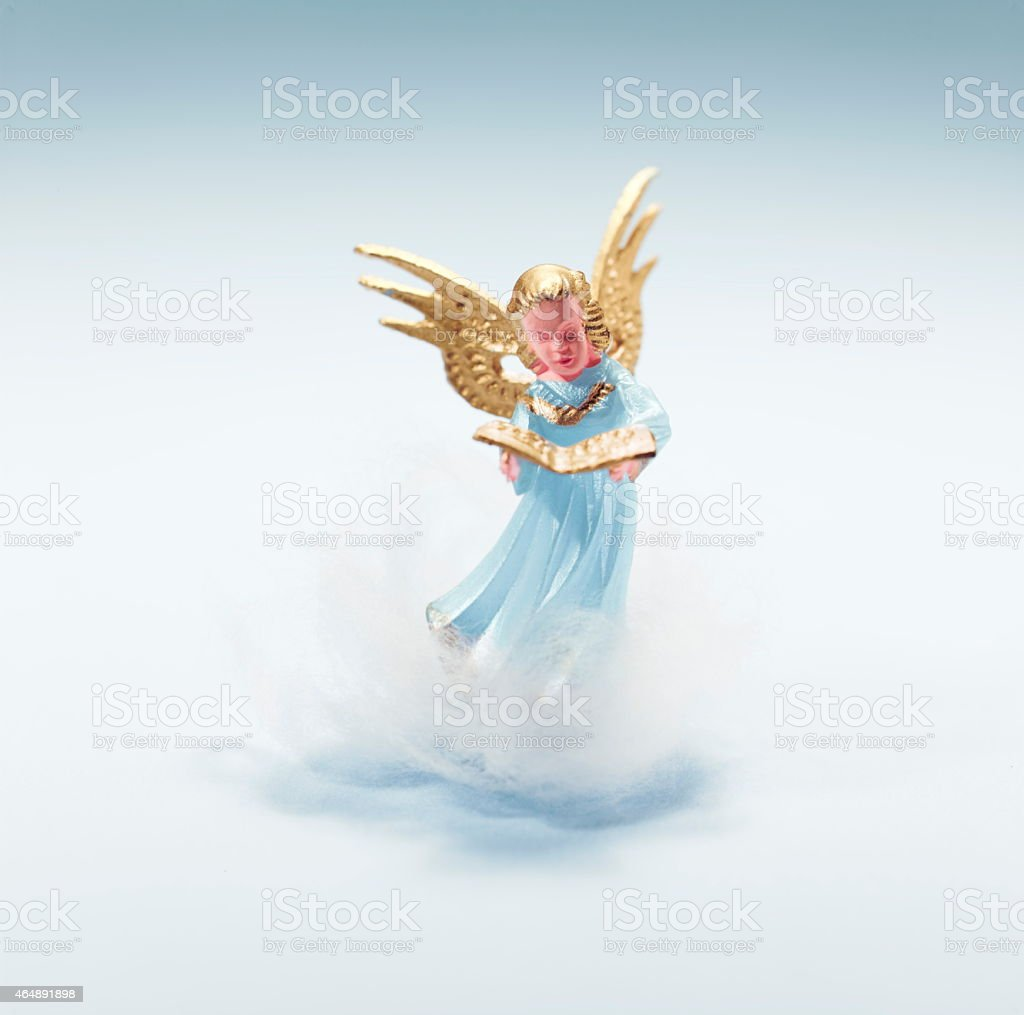 Angel Singing stock photo