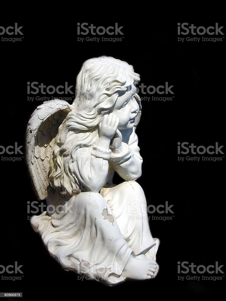 Angel Statue 4 royalty-free stock photo