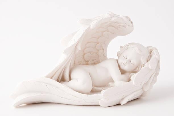 Estatua del ángel - foto de stock