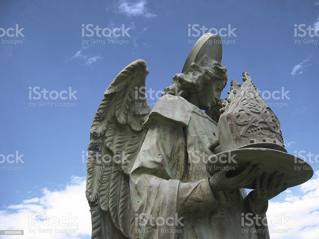 Angel Statue royalty free stockfoto