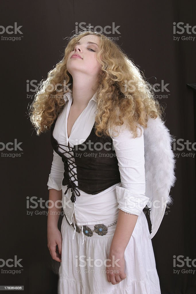 angel wihgs are hawy royalty-free stock photo