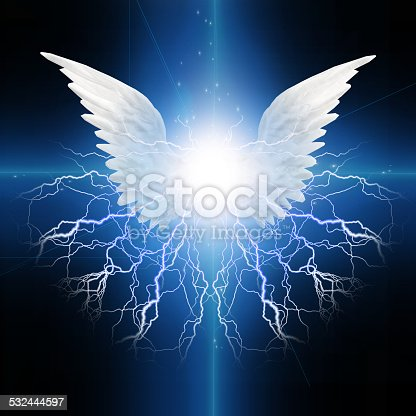 istock Angel winged 532444597