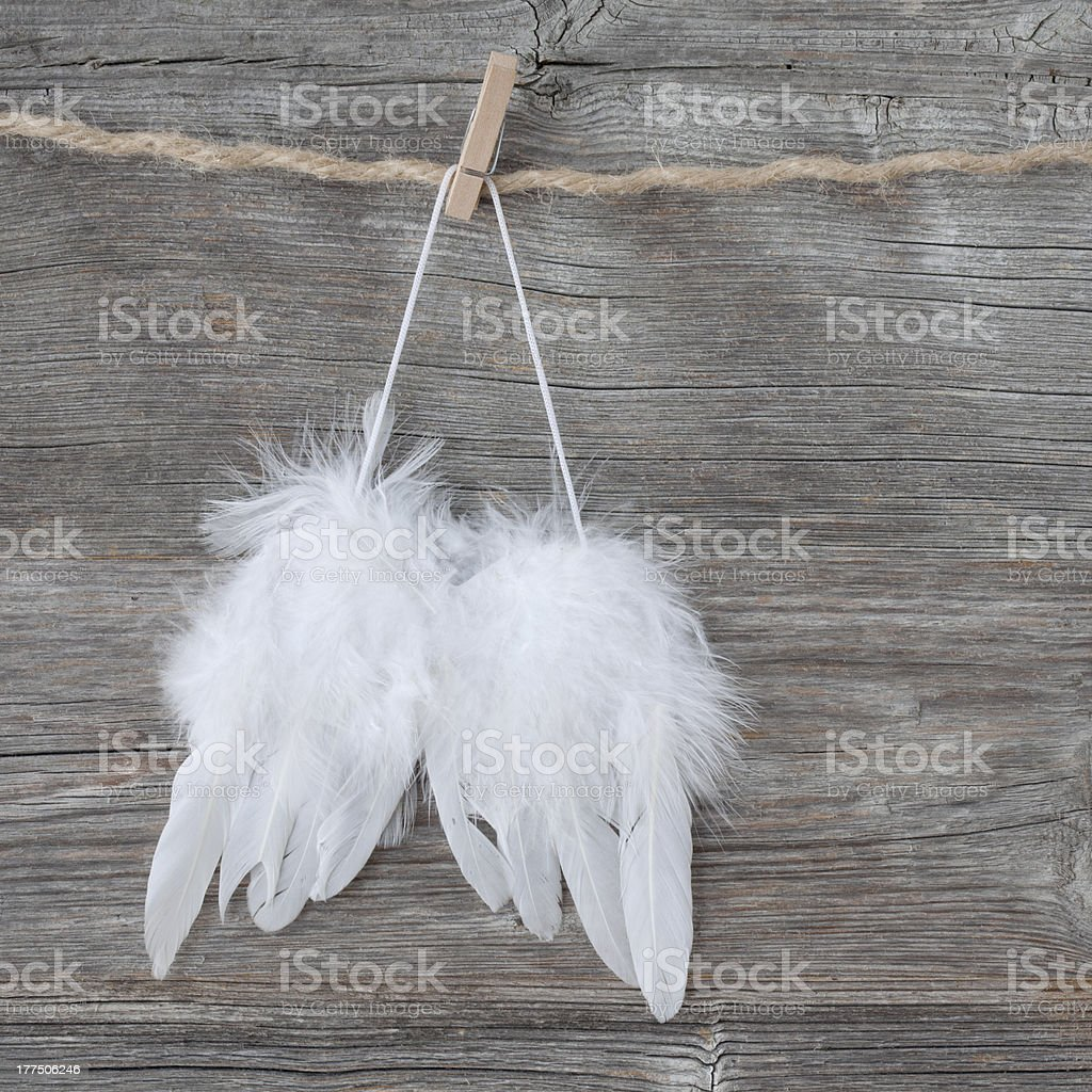 Alas de Angel - foto de stock