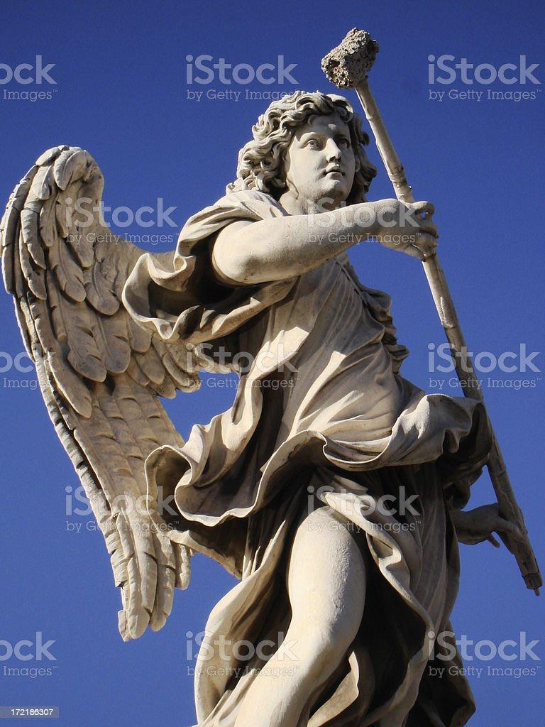 Angel with Sponge - Rome, Italy royalty-free stock photo