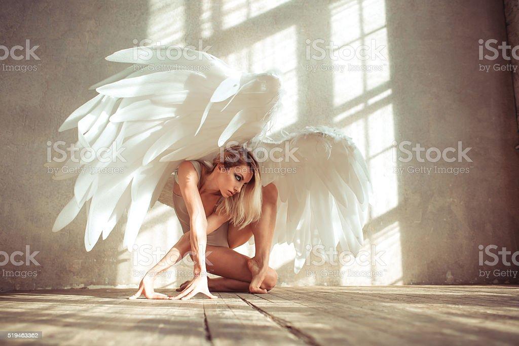 angel mujer - foto de stock