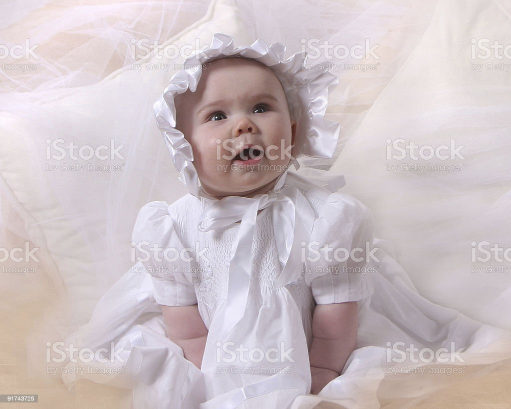 Angelic Baby stok fotoğrafı