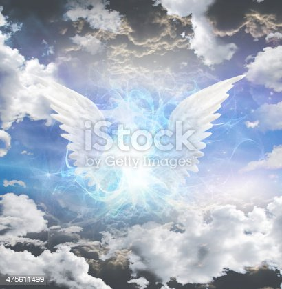 istock Angelic being obscured 475611499