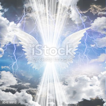 603271648istockphoto Angelic being obscured 504816913