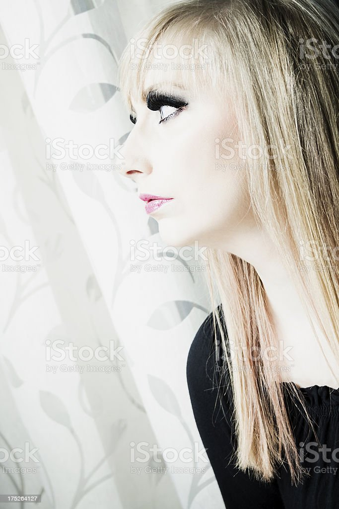 Angelic blonde royalty-free stock photo